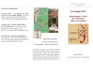 Pellegrinaggio a Torino 8-9 Maggio 2015 - Pagina 1